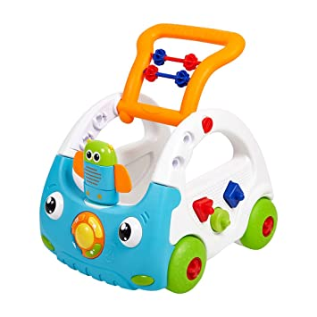 Amazon.com : COLOR TREE Baby Sit to Stand Learning Walker ...