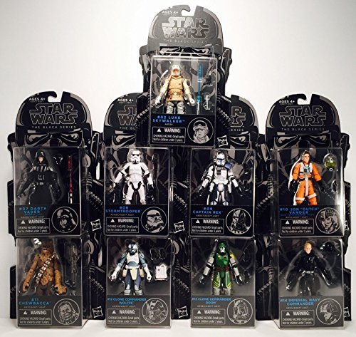 Star Wars Black Series 3 3/4-Inch Action Figures Wave 7 (Action Figure Stormtrooper Commander)