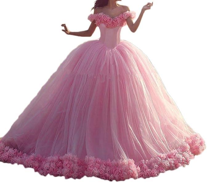 moligatull playa vestido de novia flores de novia (quinceañera dress061