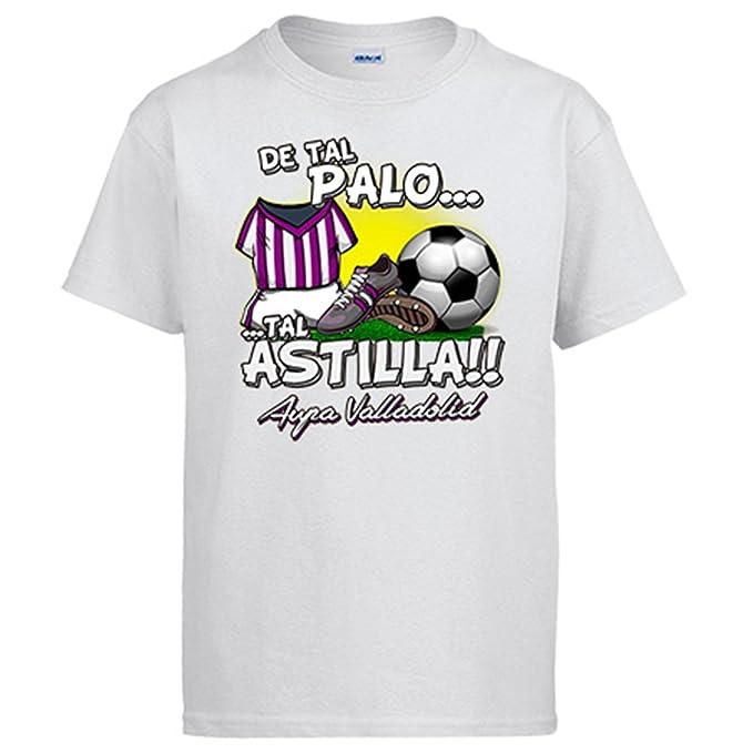 Diver Camisetas Camiseta De Tal Palo Tal Astilla Valladolid fútbol  Amazon. es  Ropa y accesorios 78901ec36d9c6