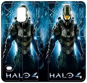 Halo 4 de encargo del tirón funda Para Samsung Galaxy Funda S5 S5 Galaxy de Samsung Cubierta - HLWELKMET3242