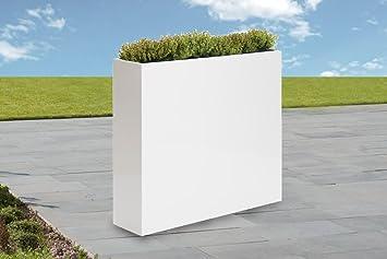 Raumteiler Blumenkasten Weiss