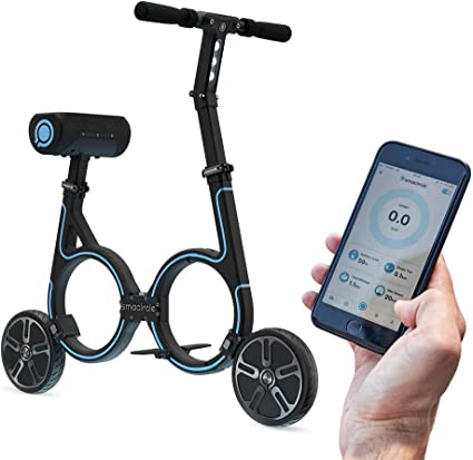 USB Charger Ideal for Urban Riding and Commuting App Control Smacircle E-Bike 12 Mile Range 36V Lithium-ion Battery Folding Electric Bicycle with Lightweight Carbon Fiber Frame