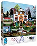 Ceaco Jane Wooster Scott Fetching Florals Jigsaw Puzzle
