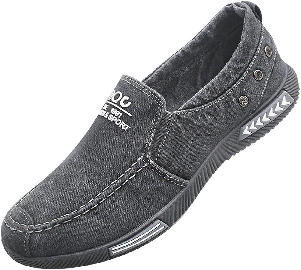Chaussures Femme Marche Mocassins Confort Loisirs Doux nid Enfiler Respirant Chaussures SZ