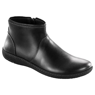 Newest Birkenstock Bennington Black Womens Ankle Boots Outlet UK1057