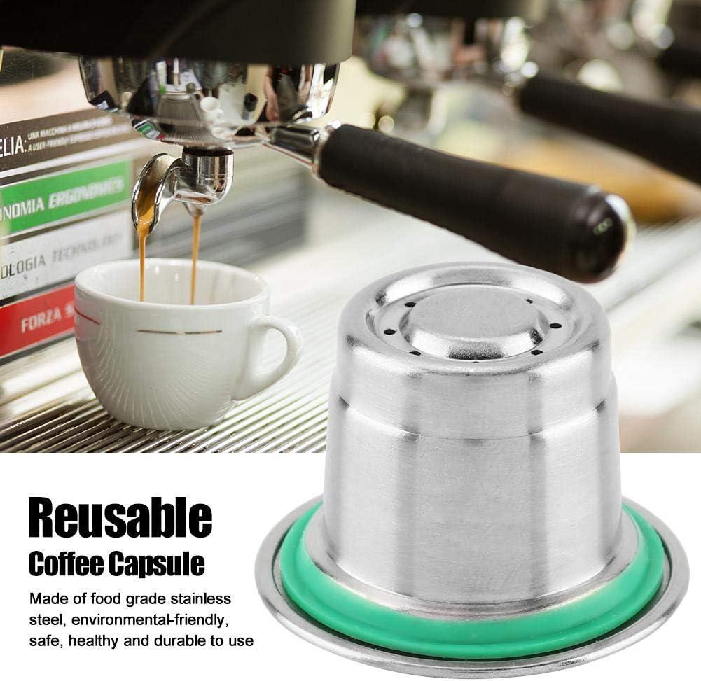 Raguso C/ápsula de caf/é reutilizable lavable para oficina para m/áquina de caf/é