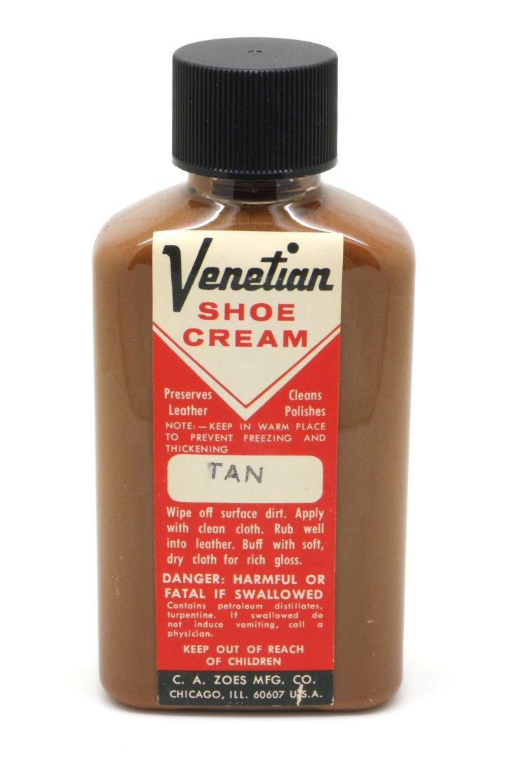 Venetian Shoe Cream, 3 oz, Tan