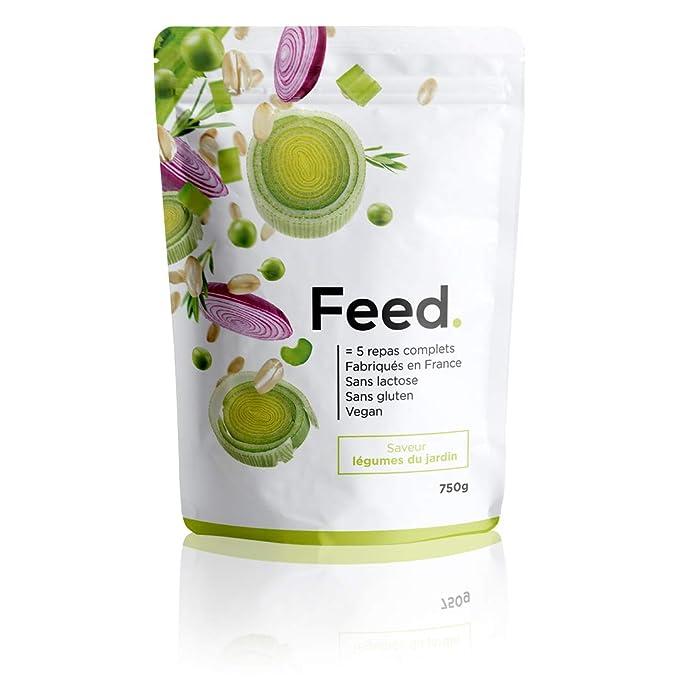 Feed. - 1 Bolsa de 5 Comidas Verduras de la huerta - Comida Completa -