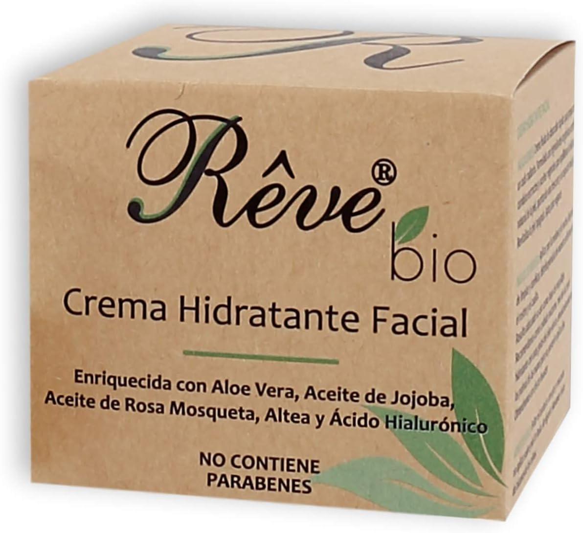 REVE Crema Hidratante Facial Bio - Hombre y Mujer, Día y Noche ...