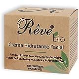 REVE Crema Hidratante Facial Bio - Hombre y Mujer, Día y Noche, fluida y de absorción rápida en la cara para todo tipo…