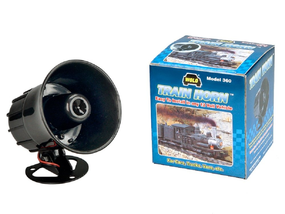 Wolo (360) Train Horn Electronic Horn - 12 Volt by Wolo