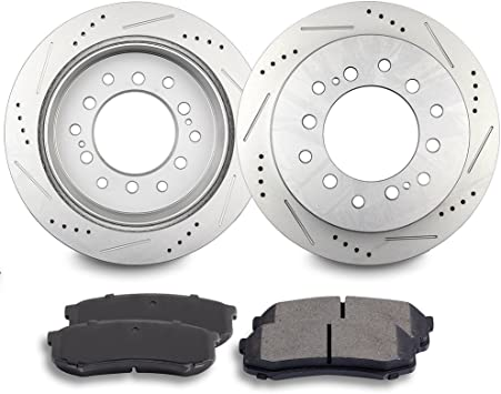 Front And Rear Ceramic Brake Pads For 4Runner FJ Cruiser