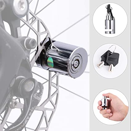 Portable Motorcycle Bicycle Bike Scooter Security Lock Wheel Disc Brake Lock USA