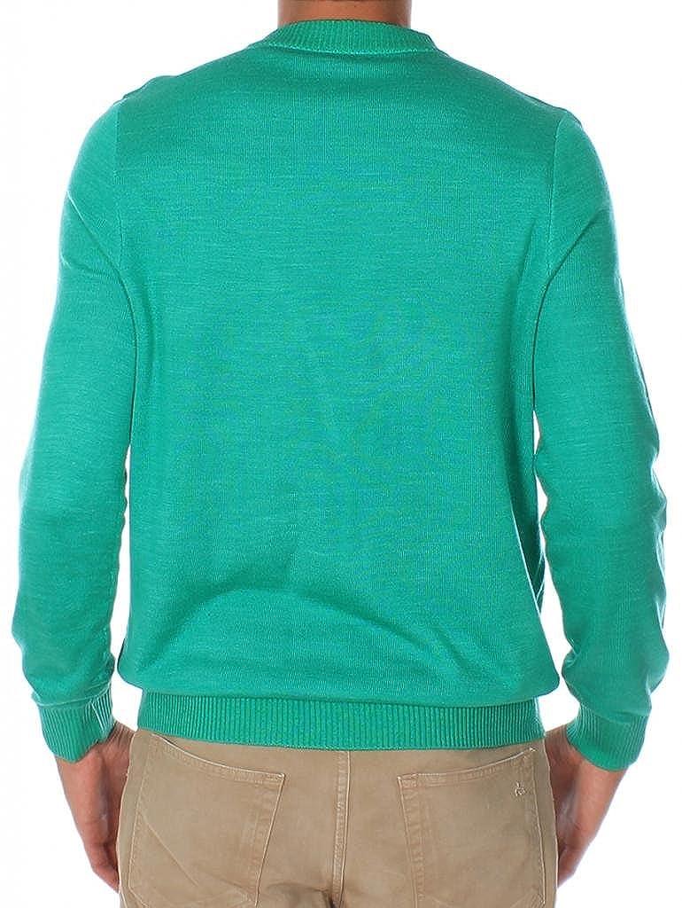 Mens Bah Hum Pug Christmas Sweater