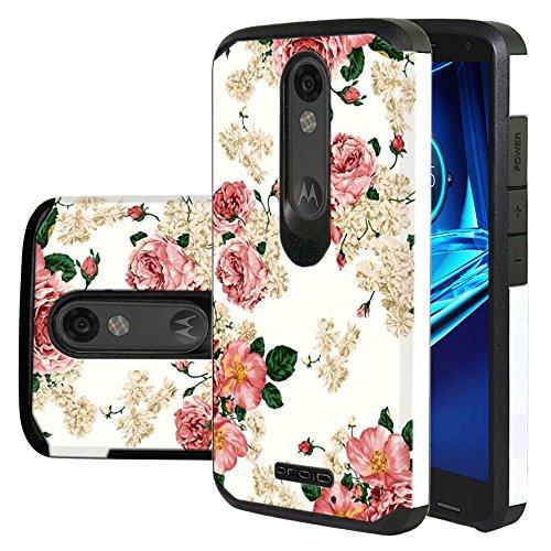 Harryshell Flower Protective Defender Motorola