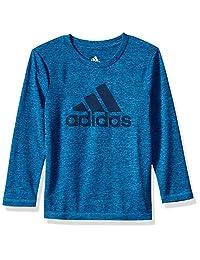 adidas Basic - Camiseta de manga larga para niño