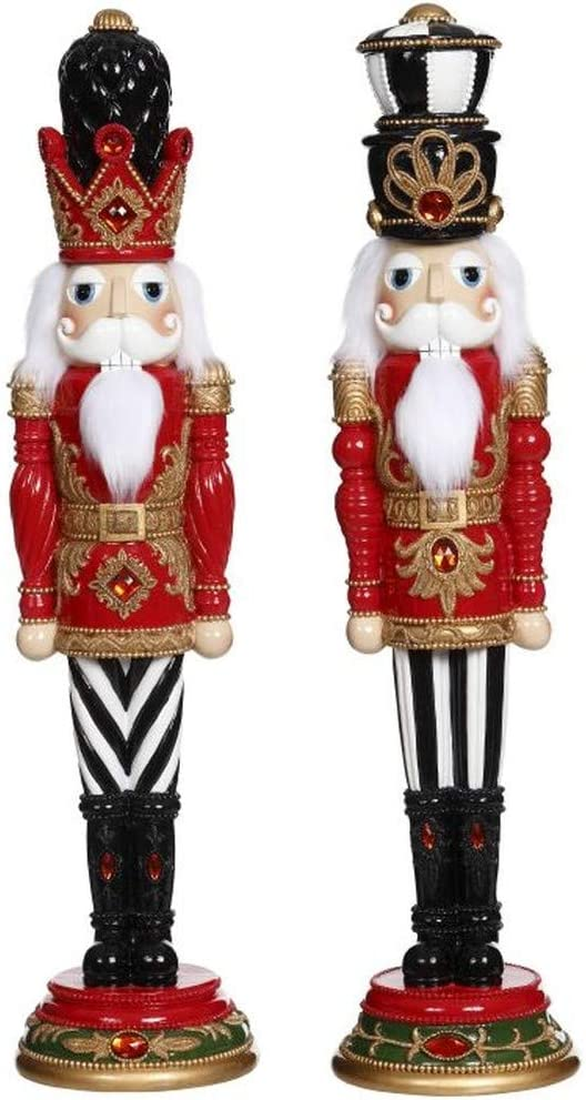 Mark Roberts 2020 Collection Dreamy Nutcrackers 22 Inches Assortment of 2 Figurines