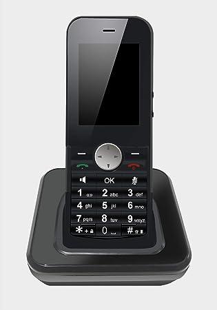 Teléfono inalámbrico WiFi 2,4 G SIP/teléfono VoIP: Amazon.es: Electrónica