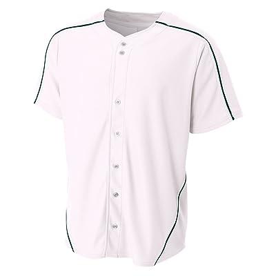 A4 Warp-Knit Baseball Jersey