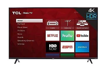 TCL 43S423 - Televisor LED 4K Ultra HD Smart Roku (43 Pulgadas ...