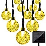 Best Solar String Lights - Solar String Lights, KEEDA 30 LED Crystal Ball Review