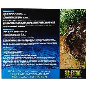 Exo Terra Turtle Cliff Aquatic Terrarium Filter/Rock, Small