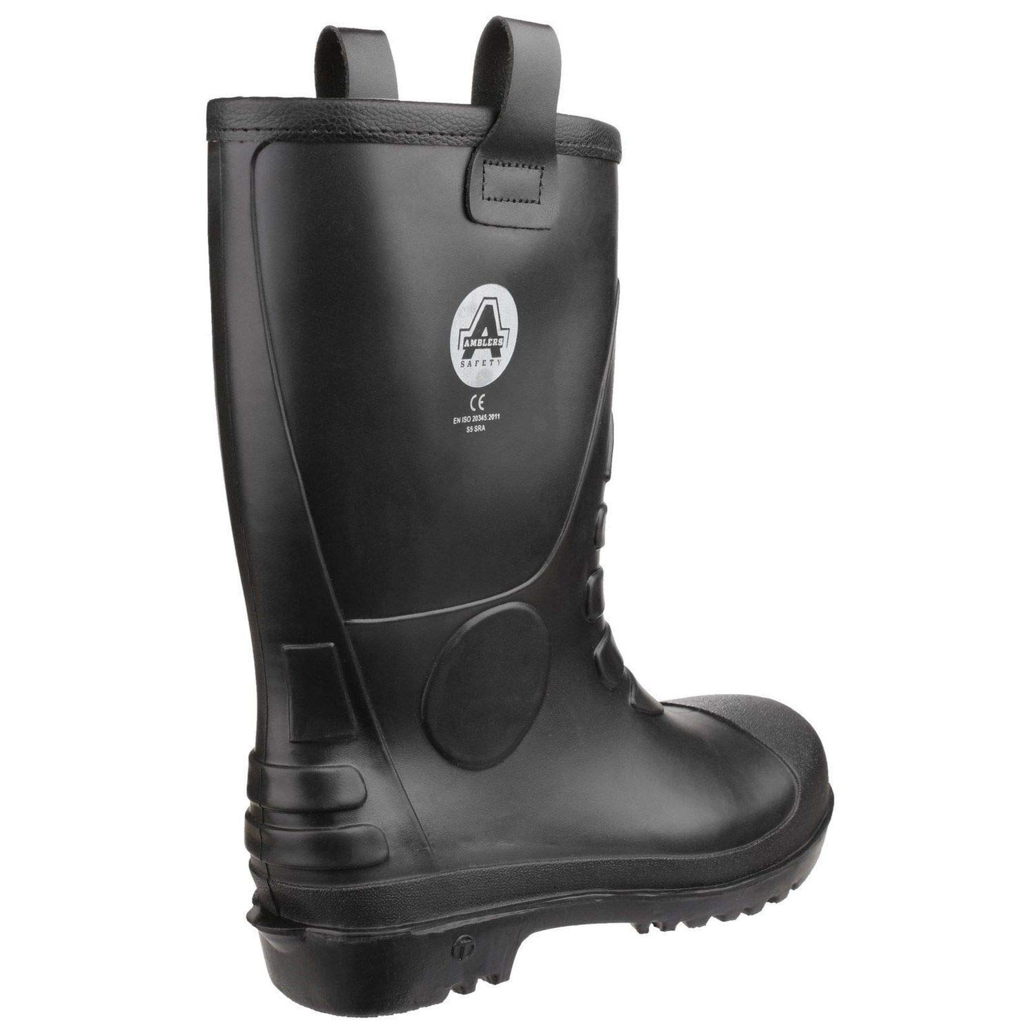 a89989ea09d Amblers FS90 Waterproof PVC Pull on Safety Rigger Boot - 24926 Black