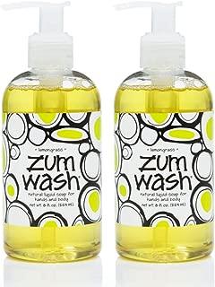 product image for Zum Wash Liquid Soap - Lemongrass - 8 fl oz (2 Pack)
