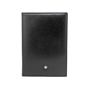 Montblanc Portefeuille Passeport, Noir (Noir) - 35285  Amazon.fr ... bd266fd0c72