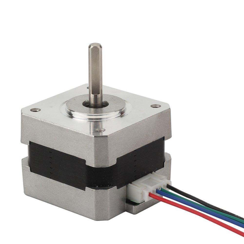 Refaxi Motor Paso A Paso Nema17 Eje para Polea De 5mm Reprap CNC ...