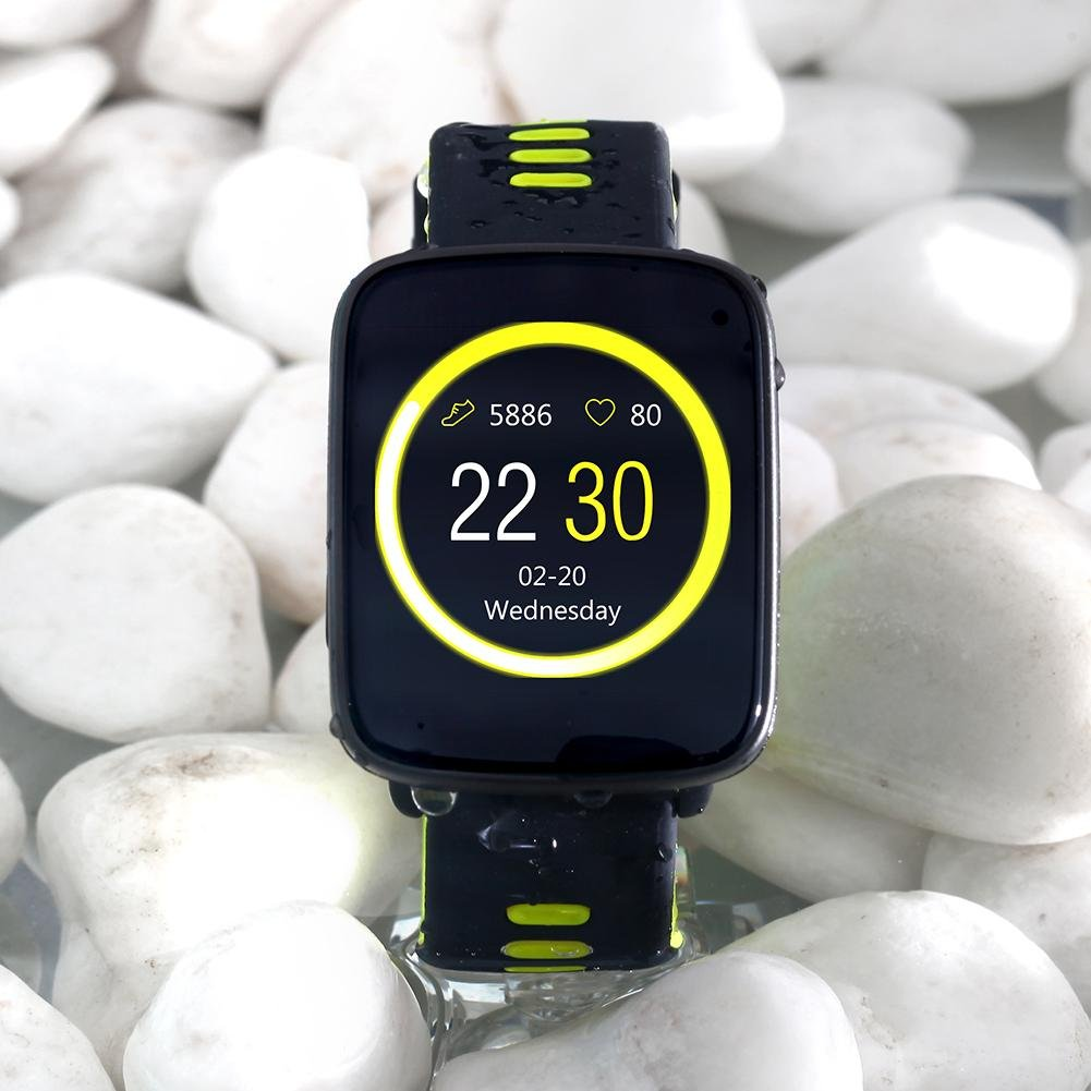 Amazon.com : MKChung Sport Smart Watch, GV68 Touch Screen ...