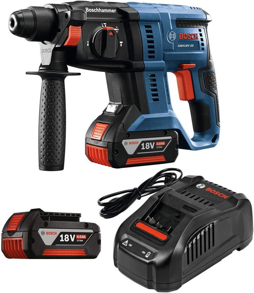 Bosch GBH18V-20K21 18V 3 4 SDS-plus Rotary Hammer Kit