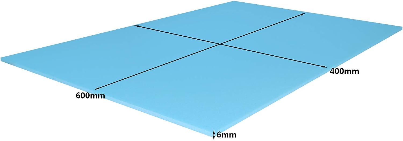 5 Pack 1200 x 600 x 6mm Floor Underlay Panels for Underfloor/- EkoBOARD XPS Insulation Boards