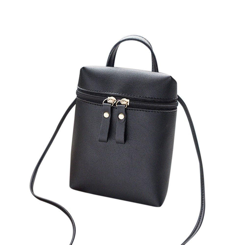 Liraly Women Bags, Fashion Women Crossbody Bag Shoulder Bag Messenger Bag Coin Bag Phone Bag (Black)