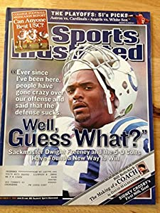 Sports Illustrated Oct 17, 2005 Dwight Freeney Colts Good