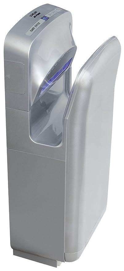 Secador de manos SCHELLER JET-POWER HT 19 con HEPA-filtro de colour plata
