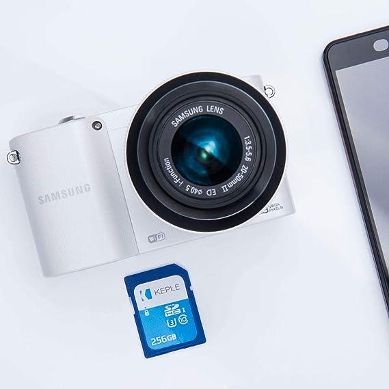 256GB SD Tarjeta de Memoria Compatible con Nikon D5300 ...