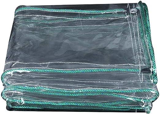 Lona Resistente Al Agua Artículo Que Cubre La Decoración De Jardín De Lona Transparente Tienda De Campamento Al Aire Libre,A-1 * 2M: Amazon.es: Hogar