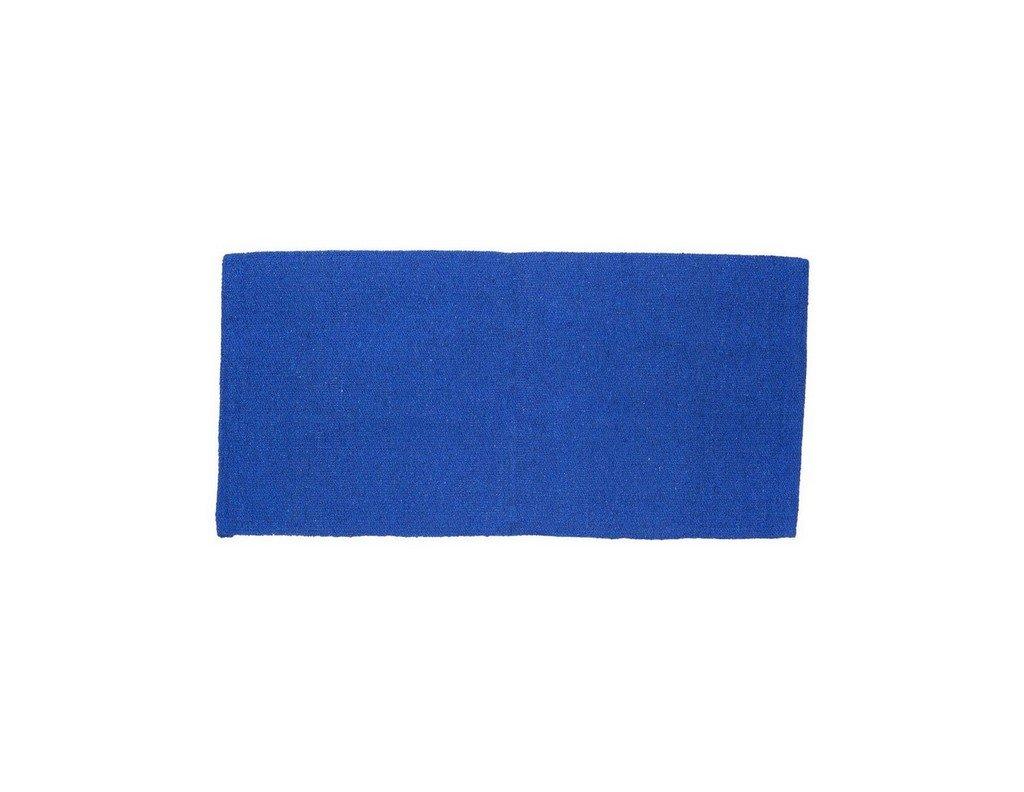 Tough-1 Solid Acrylic Saddle Blanket Royal Blue 32