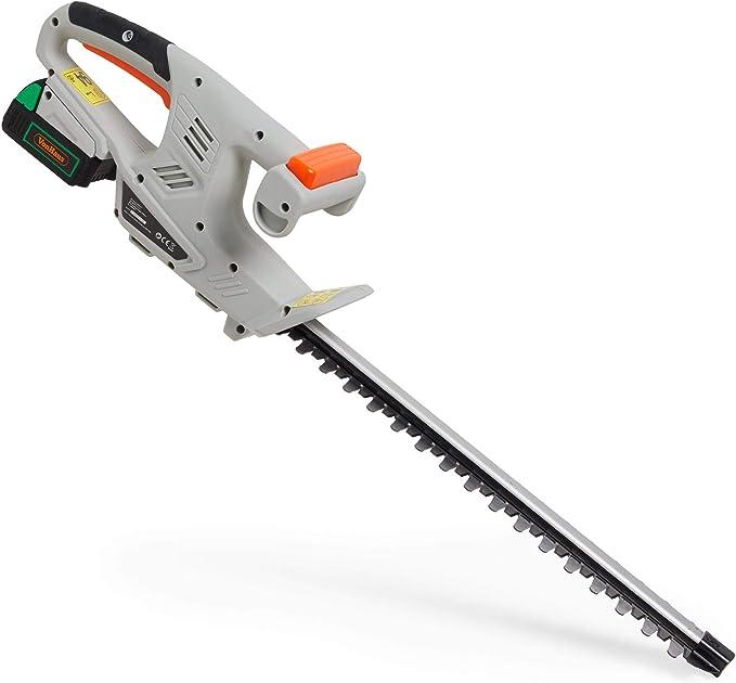 VonHaus Cordless Hedge Trimmer - Best For Safety Standards