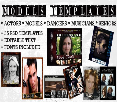 Portraits Senior Photography - Digital Photography Senior Portraits & Model Composites Backgrounds Backdrops