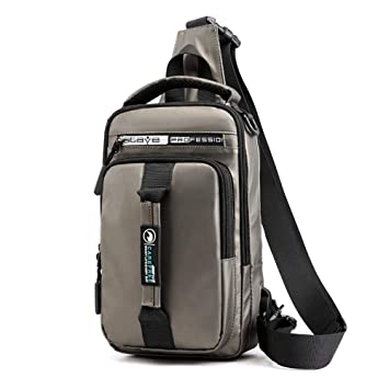 Anti-Theft Men Chest Messenger Sling Bag Casual Shoulder Small Crossbody Bags