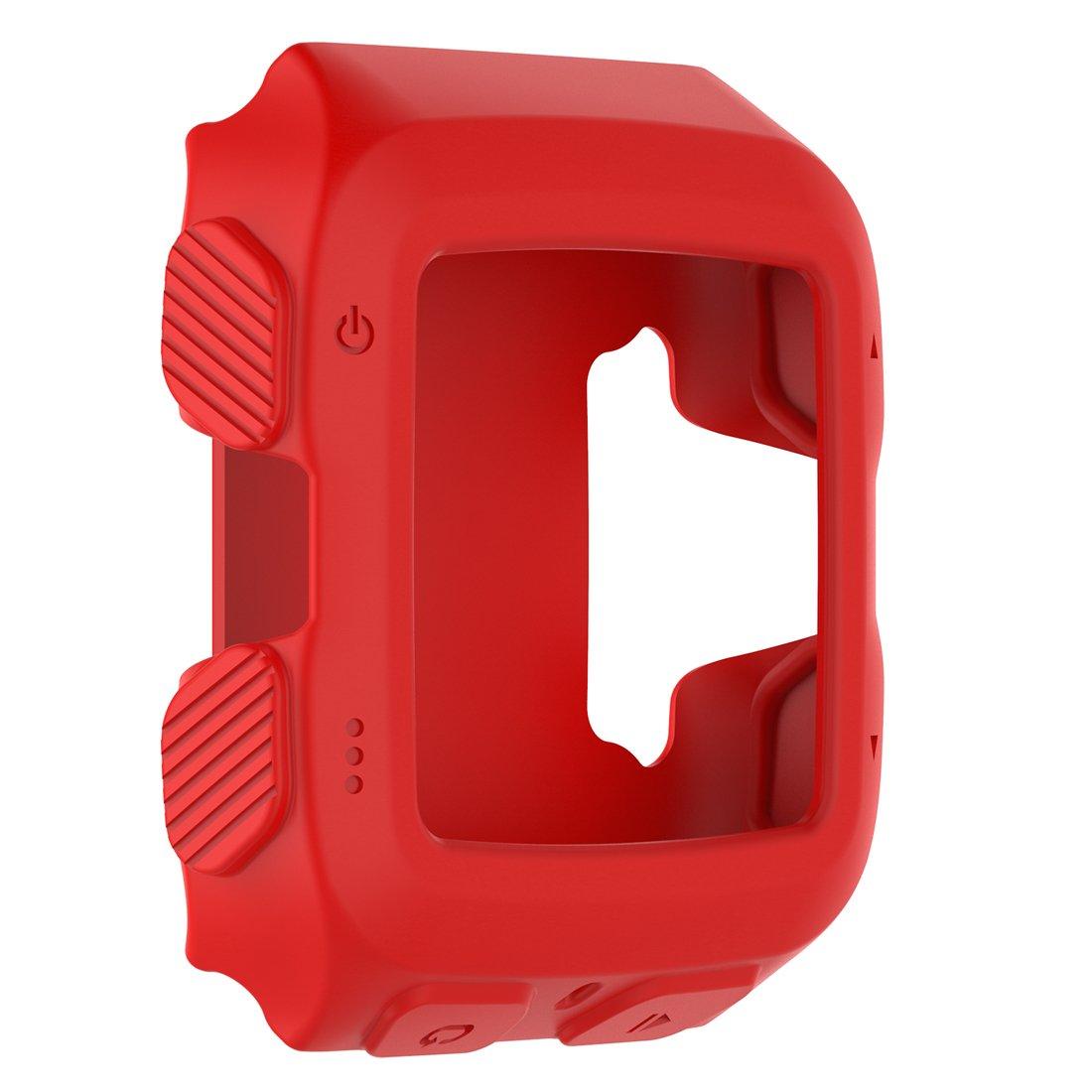 Funda Protectora Para Reloj Garmin Forerunner 920xt rojo