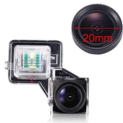 Amazon.com: Super HD CCD Sensor Vehicle 20mm 170 Wide Angle ...