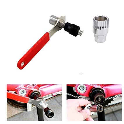 Bicycle Crank Extractor Puller+Bottom Bracket Remover+Spanner Repair Tool