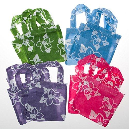 Mini Hibiscus Tote Bags]()