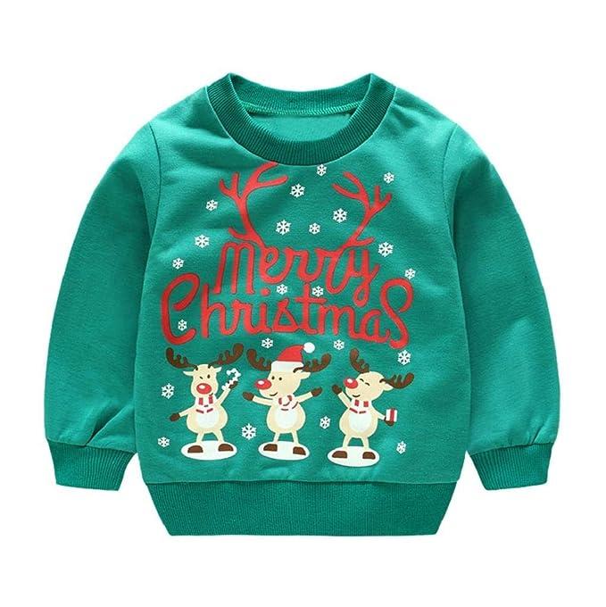 cc4337528e162 クリスマス衣装 長袖Tシャツ 子供服 キッズ服 2点セット Kukoyo 秋冬 パーカー トナカイ