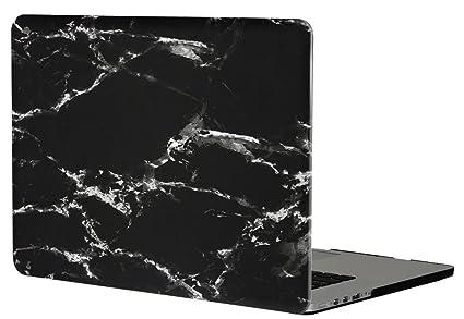 Topideal - Carcasa rígida para Apple MacBook Pro con pantalla retina de 15 a 15,4 pulgadas, con acabado de goma mate satinada y tacto suave como la ...
