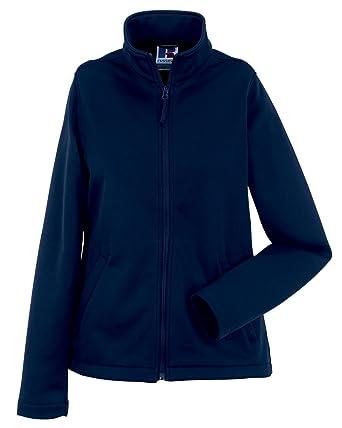 New traje de neopreno para mujer Smart Russell chaqueta Softshell microforro polar de poliéster cámara de aire para bicicletas en la parte superior y de ...